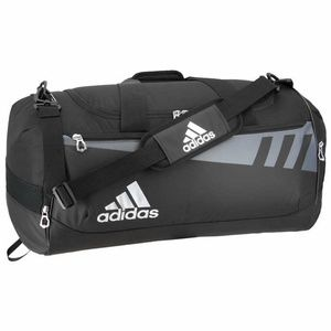 Adidas Team Issue Duffel, Black / White